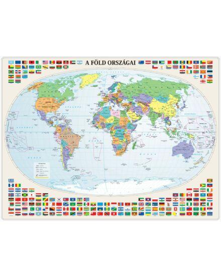 Cartographia  - A Föld országai falitérkép