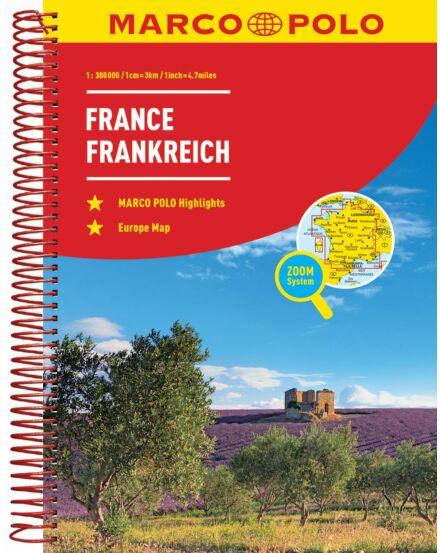 Cartographia  - Franciaország atlasz
