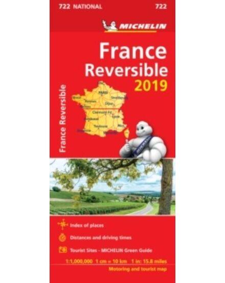 Franciaország térkép