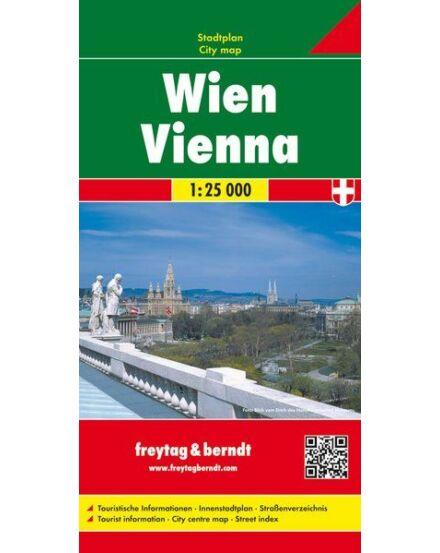 Bécs várostérkép, kemény borítós (Freytag)