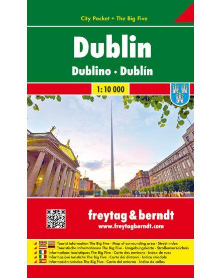 Cartographia  - Dublin City Pocket várostérkép