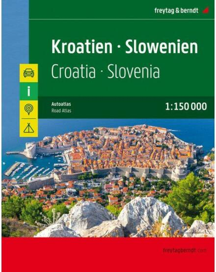 Horvátország-Szlovénia atlasz (Freytag)