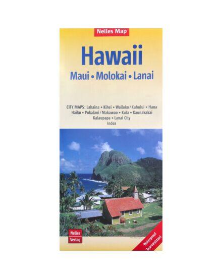 Hawaii - Maui, Molokai, Lanai térkép