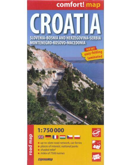 Cartographia  - Horvátország térkép