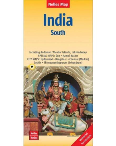 Cartographia  - India déli része térkép
