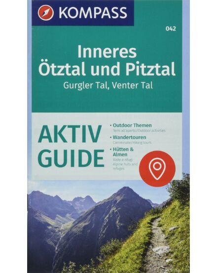 Cartographia  - K 042 Inneres Ötztal, Pitztal, Gurgler Tal, Venter Tal turistatérkép
