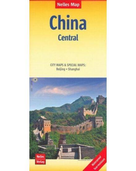 Közép-Kína térkép