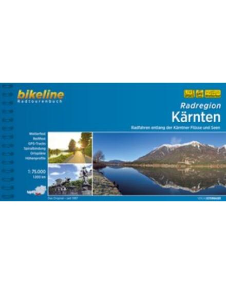 Cartographia  - Karintia kerékpáros kalauz (Esterbauer)