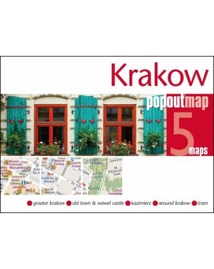 Cartographia  - Krakkó PopOut várostérkép