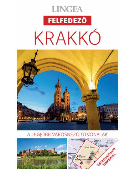 Krakkó felfedező útikönyv + tkp