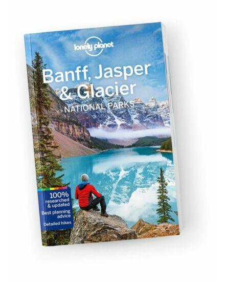 Cartographia  - Banff, Jasper & Glacier Nemzeti Park útikönyv Lonely Planet