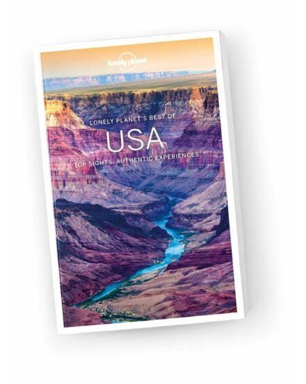 Cartographia  - Best of USA útikönyv (angol) Lonely Planet