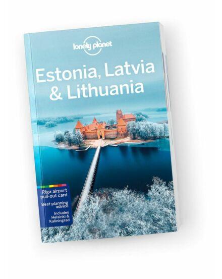 Cartographia  - Észtország, Lettország és Litvánia útikönyv (angol) Lonely Planet