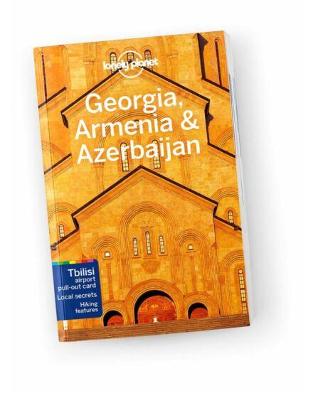 Cartographia  - Grúzia, Örményország és Azerbajdzsán útikönyv (angol) Lonely Planet