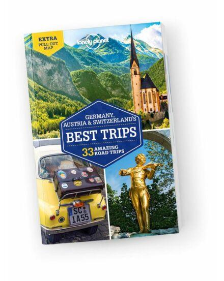 Cartographia  - Németország, Ausztria, Svájc legjobb túrái útikönyv (angol) Lonely Planet
