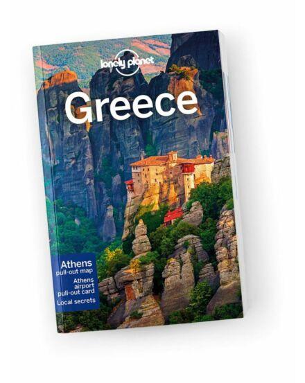 Cartographia  - Görögország útikönyv (angol) Lonely Planet