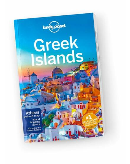 Cartographia  - Görög - szigetek útikönyv (angol) Lonely Planet