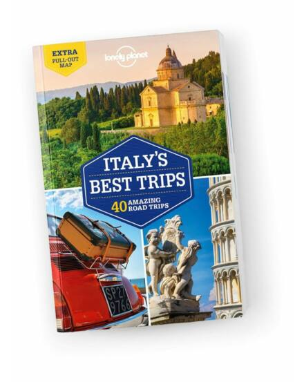Cartographia  - Olaszország Best Trips útikönyv Lonely Planet