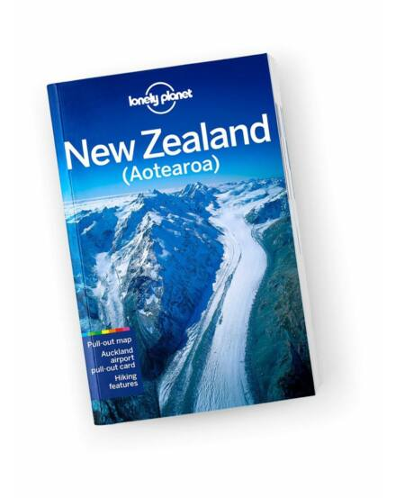 Cartographia  - Új-Zéland útikönyv (angol) Lonely Planet