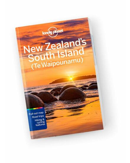 Cartographia  - Új-Zéland - Déli szigetek útikönyv Lonely Planet