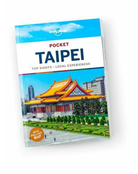 Cartographia  - Taipei Pocket útikönyv (angol) Lonely Planet
