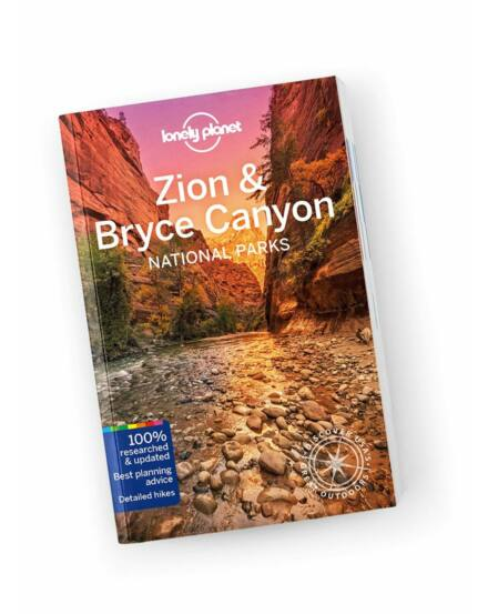 Cartographia  - Zion és Bryce Canyon Nemzeti Park útikönyv Lonely Planet