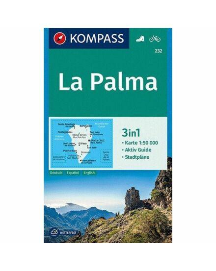 Cartographia  - La Palma turistatérkép K 232