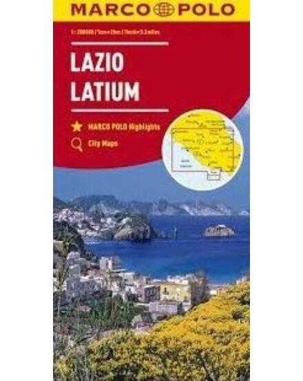 Olaszország résztérkép 1:200 000 - Lazio