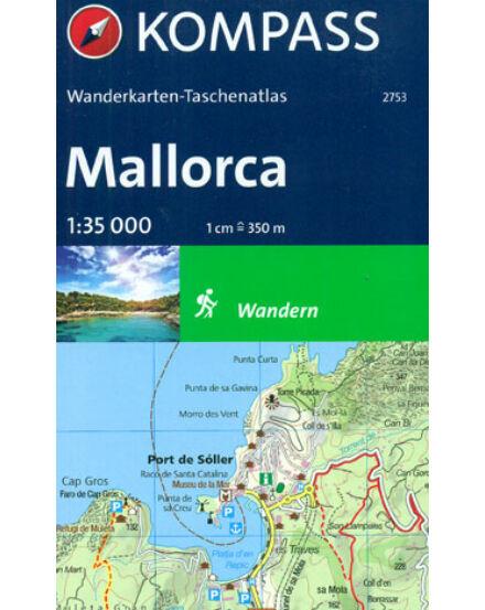 K 2753 Mallorca zsebatlasz 1:35 000
