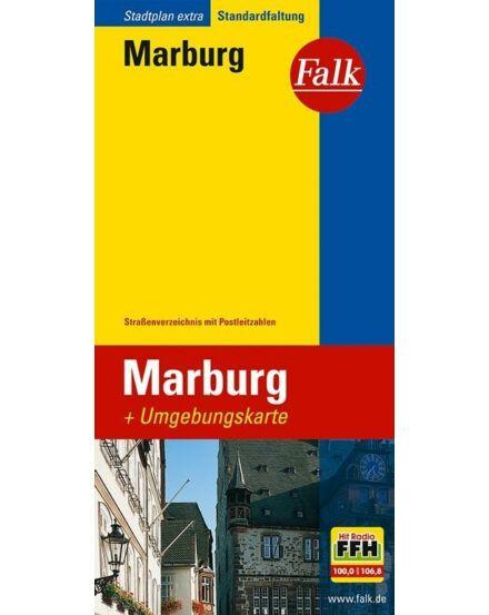 Marburg várostérkép (Extra) Falk