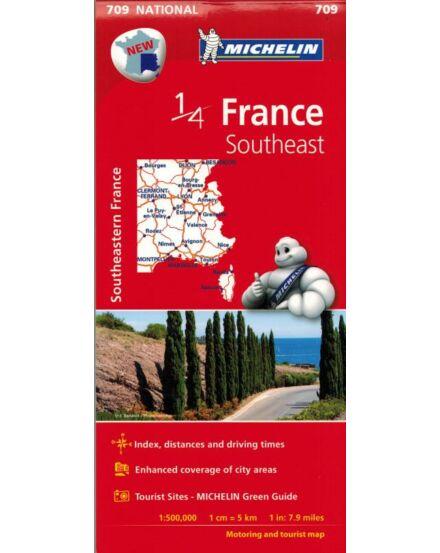 Cartographia  - Franciaország - Dél-Kelet térkép (708)