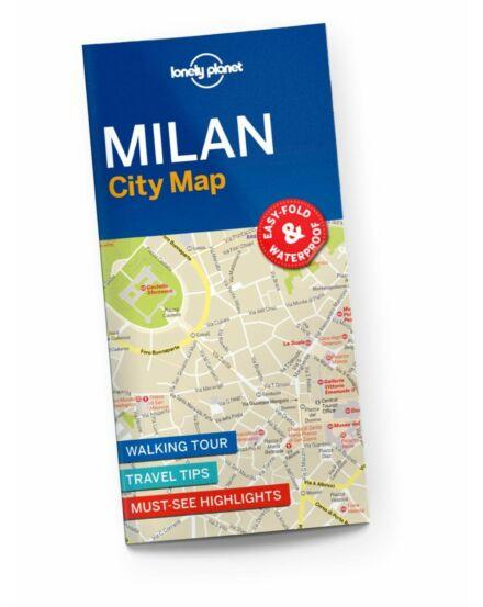 Cartographia - Milánó várostérkép Lonely Planet