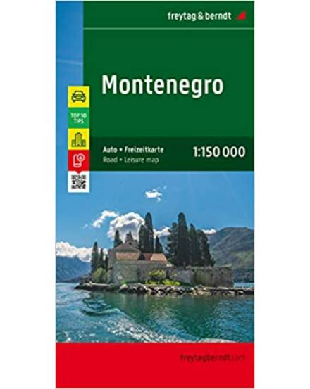 Cartographia  - Montenegro térkép