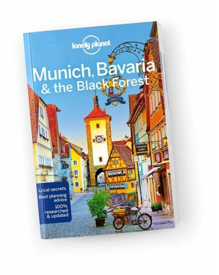 Cartographia  - München, Bajorország (Bavaria), Fekete-erdő útikönyv Lonely Planet