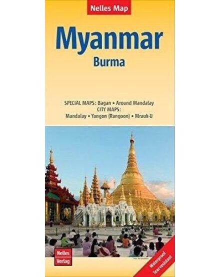 Mianmar (Burma) térkép