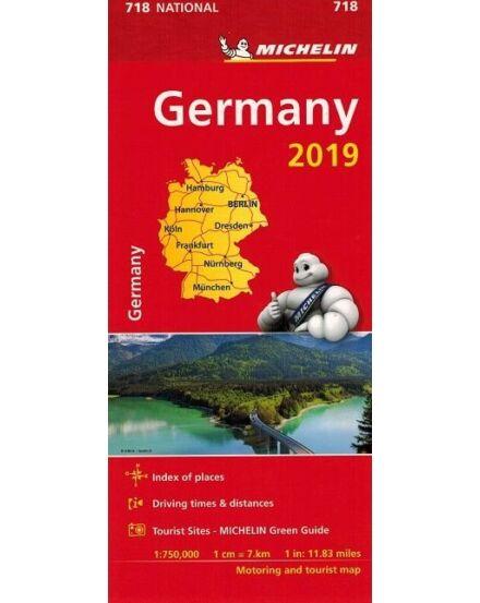Németország térkép 0718