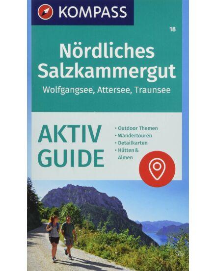 Cartographia  - K 18 Észak-Salzkammergut, Wolfgangsee, Attersee, Traunsee turistatérkép