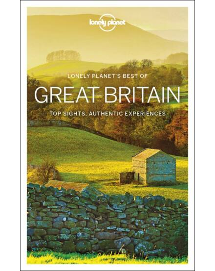 Nagy-Britannia _Best_of_útikönyv_(angol) Lonely Planet