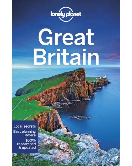 Nagy-Britannia útikönyv (angol) Lonely Planet