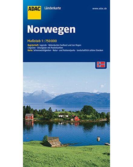 Cartographia  - Norvégia térkép