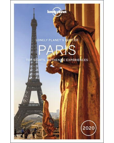 Párizs Best of útikönyv (angol) Lonely Planet