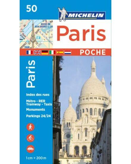Párizs térkép pocket 0050
