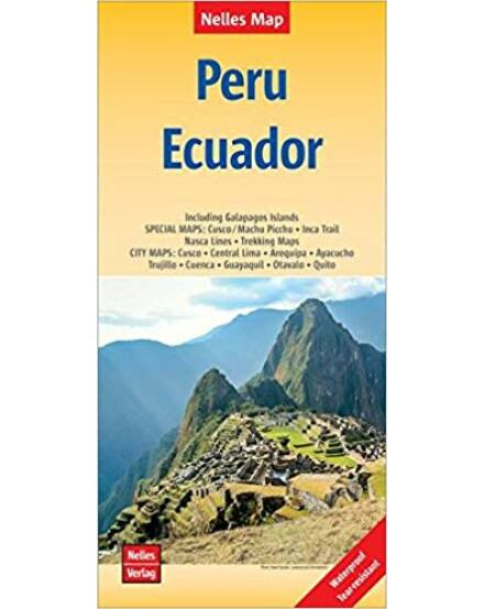 Peru és Ecuador térkép