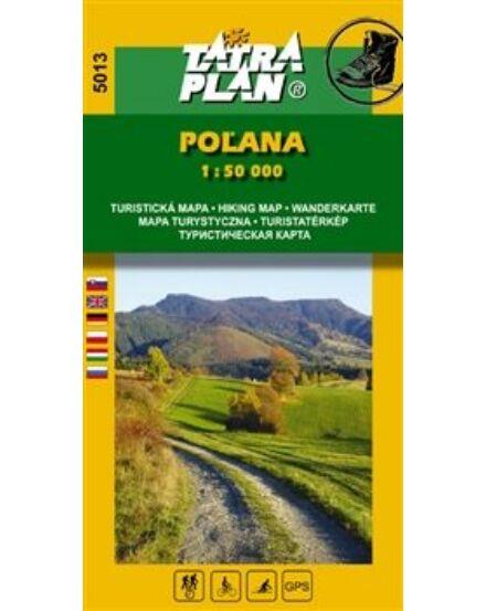 Polyána/Vepor turistatkp. 1:50e TP5013