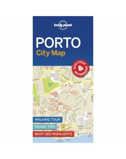 Porto laminált térkép Lonely Planet