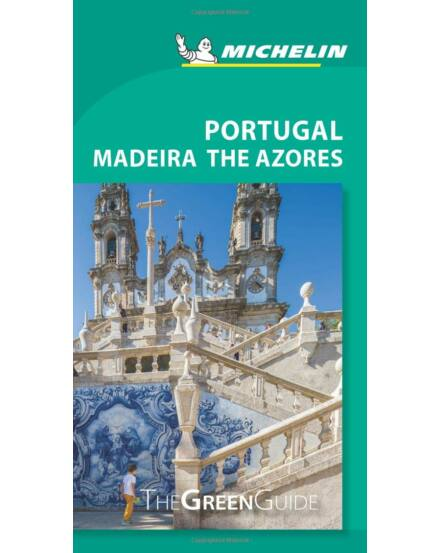 Portugália útikönyv (angol) Michelin