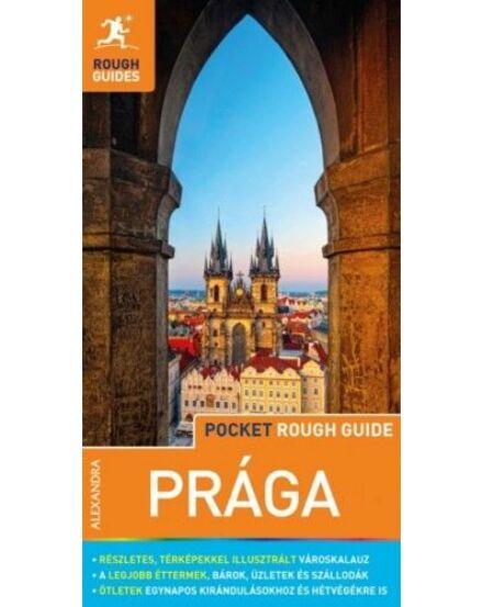 Prága (Pocket Rough Guides) útikönyv térképmelléklettel Cartographia 9789634472094