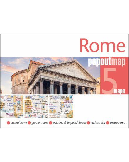 Róma PopOut várostérkép