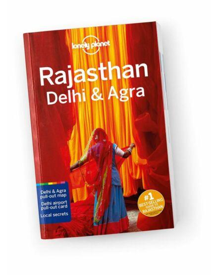 Cartographia  - Rajasthan, Delhi és Agra útikönyv (angol) Lonely Planet