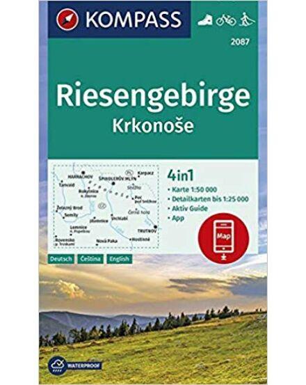 K 2087 Reisengebirge- Krkonose/Óriáshegység térkép 1:25 000